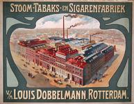 G-0000-0155 Stoom- Tabaks- en Sigarenfabriek v/h Louis Dobbelmann Rotterdam.