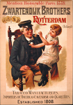 G-0000-0200 Gebr. 's Zwartendijk Rotterdam. Zwartendijk Brothers Rotterdam. Mention Honorable Paris 1889. Tabacco ...