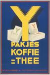 G-0000-0295 Pakjes koffie thee N.V. H.E. van Ysendyk Jr. Rotterdam-Antwerpen.