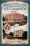 G-0000-0347 Koninklijke Nederlandsche Stoomkoffiebranderijen H.E. van IJsendijk Jr. Rotterdam en Zwolle.