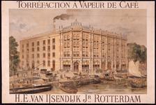 G-0000-0348 H.E. van IJsendyk Jr. Torréfaction à vapeur de café. Stoom-koffiebranderij. Rotterdam.