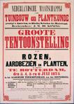 G-0000-0417 Nederlandsche Maatschappij voor Tuinbouw en Plantkunde gevestigd te Amsterdam, en Afdeling Rotterdam dier ...