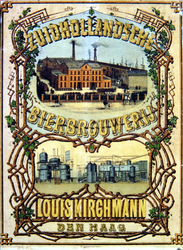 G-0000-0445 Zuidhollandsche Bierbrouwerij Louis Kirchmann, Den Haag.