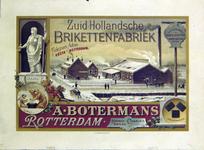 G-0000-0451 Zuid-Hollandsche Brikettenfabriek A. Botermans Rotterdam.