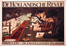 G-0000-0487 De Hollandsche Revue. De Erven Loosjes Haarlem.
