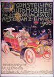 G-0000-0492 Tentoonstelling van Automobielen. Paleis voor Volksvlijt Amsterdam 2 -11 Maart 1906. Nederlandsche ...