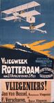 G-0000-0520 Vliegsport . N.V. Rotterdamsche Vliegvereeniging. Vliegweek Rotterdam van 27 April t/m 3 Mei 1911. ...