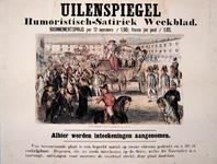 G-0000-0538 Uilenspiegel. Humoristisch-satiriek weekblad (...) kosteloos.