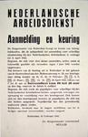 G-0000-0573 Nederlandsche Arbeidsdienst (...) Rotterdam, 16 februari 1942 de Burgemeester voornoemd, Müller.