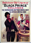 G-0000-0594 Delicious old liqueur Black Prince Hollands The refreshing nip that drives away all fatique and all dare ...