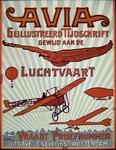 G-0000-0644 Week- en maandbladen. Avia. Geïllustreerd Tijdschrift gewijd aan de Luchtvaart. Vraagt Proefnummer.