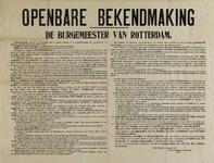 IA-1939-0009 Openbare bekendmaking van de Burgemeester. Voorschriften Luchtbescherming. 7 Januari 1939.