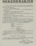IA-1940-0013 Bekendmaking door de directeur van M.H. in zake opruimingswerkzaamheden. 21 Mei.
