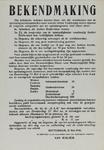 IA-1940-0018 Bekendmaking van den directeur van den Gemeentelijken Dienst voor Maatschappelijk Hulpbetoon betreffende ...