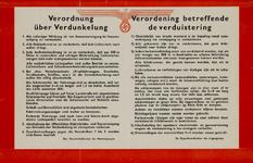 IA-1940-0020 Verordening betreffende de verduistering.