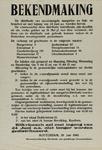 IA-1940-0033 Bekendmaking in zake de distributie van onvermengde margarine, bak- en braadvet, enz. 20 Juni.