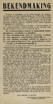 IA-1940-0033A Bekendmaking Gemeentelijke Technische Dienst Afdeeling Opruiming inzake de aanstelling vertrouwensmannen ...