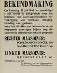 IA-1940-0034 Bekendmaking van de directeur van de Gemeentelijke Dienst voor Maatschappelijk Hulpbetoon inzake ...