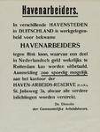 IA-1940-0054B Bouwbedrijven. Tewerkstelling in Duitsland. De directie der Gemeentelijke Arbeidsbeurs.