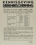 IA-1940-0061 Kennisgeving dierenbescherming.