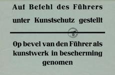 IA-1940-0065 Auf befehl des führers unter Kunstschutz gestellt. Op bevel van den Führer als kunstwerk in bescherming ...
