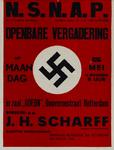 IA-1941-0027 N.S.N.A.P. Openbare vergadering op Maandag 5 Mei ... Spreker: p.g. J.H. Schraff.