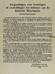 IA-1941-0029 Vergoedingen voor leveringen of verrichtingen ten behoeve van de Duitsche Weermacht. 8 Mei.