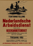 IA-1941-0062 Tentoonstelling Nederlandsche Arbeidsdienst tezamen met den Reichsarbeitsdienst te Rotterdam, Westzeedijk ...