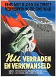 IA-1941-0072 Eens met bloed en zweet verworven voor ons volk. Nu verraden en verkwanseld. Geen waarachtig Nederlander ...