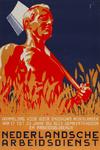 IA-1941-0094 Nederlandsche Arbeidsdienst. Aanmelding voor ieder ongehuwd Nederlander van 17 tot 23 jaar bij alle ...
