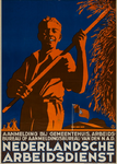IA-1942-0011 Aanmelding bij gemeentehuis, arbeidsbureau of aanmeldingsbureau van den N.A.D. Nederlandsche Arbeidsdienst.