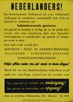 IA-1942-0032 Nederlander! De Nederlandsche Volksdienst wil onze Volkskracht verhoogen (...)