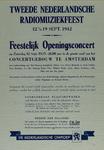 IA-1942-0068 Tweede Nederlandsche Radiomuziekfeest 12 t/m 19 Sept. Nederlandsche Omroep. Concertgebouw Amsterdam