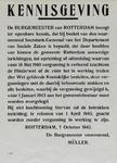 IA-1942-0084 Kennisgeving van den burgemeester inzake vergunning Hinderwet 7 October (1942).