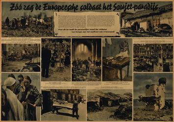 IA-1942-0095 Zoo zag de Europeesche soldaat het Sowjet-paradijs ...