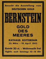 IA-1942-0114 Besucht die Ausstellung vom Deutschen gold. Bernstein. Gold des Meeres Rathaus Rotterdam 25 März - 19 ...