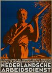 IA-1942-0119 Nederlandsche Arbeidsdienst. Aanmelding bij gemeentehuis, arbeidsbureau of aanmeldingsbureau van den N.A.D.