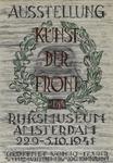 IA-1943-0004 Ausstellung Kunst der Front. Rijksmuseum Amsterdam 22.9 - 5.10.1941.