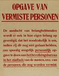 IA-1943-0041 Opgave van vermiste personen (n.a.v. mislukte geallieerde bombardement op werf Wilton-Feyenoord)