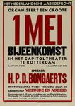 IA-1943-0050 Het Nederlandsche Arbeidsfront organiseert een groote 1 Mei bijeenkomst in het Capitool-theater te ...
