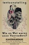 IA-1943-0079 Tentoonstelling Wie en Wat waren onze Voorouders? Kunstenaarshuis Witte de Withstraat. 11 Aug.-9 Sept.