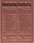 IA-1943-0083 Bekanntmachung - Bekendmaking. 21 September. Door het Polizeistandgericht Assen werden op den 29.9.1943 ...