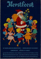 IA-1943-0112 Het Nederlandschen Arbeidsfront - Nederlandschen Volksdienst en Gemeenschap Vreugde en Arbeid geven ...