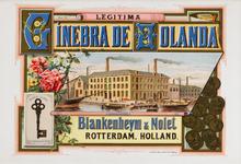 II-0000-0033 Blankenheijm en Nolet Rotterdam. Legitima Ginebra de Holanda.