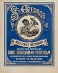 II-0000-0099 Louis Dobbelmann Rotterdam. St. George Mild Bird's Eye Tobacco.