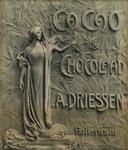 II-0000-0109 A. Driessen. A. Driessen's Cacao & Chocolaad A. Driessen Rotterdam.