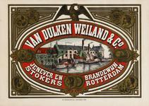 II-0000-0124 Van Dulken Weiland & Co. Jenever- en brandewijnstokers. Rotterdam.