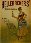 II-0000-0148 H. Hellebrekers & Zonen, Rotterdam. Hellebrekers' Specialiteiten. Klare. Likeur. Bitter. Punsch. Anisette. ...