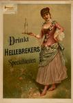 II-0000-0152 H. Hellebrekers & Zonen, Rotterdam. Drinkt Hellebrekers Specialiteiten.
