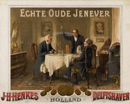II-0000-0156 J.H. Henkes, Delftshaven. Echte Oude Jenever.